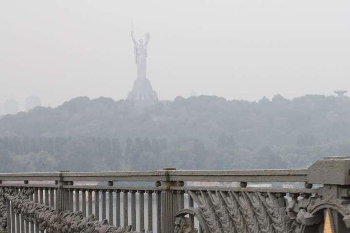 Місцями у Києві небезпечно дихати - Київ накрив смог: рівень забруднення повітря перевищений