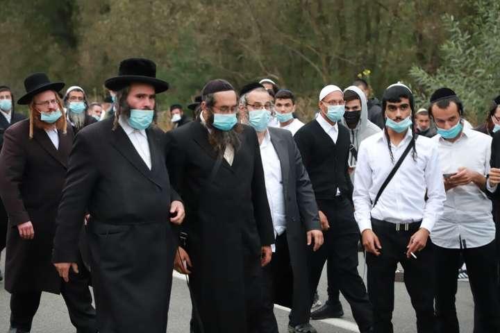Хасиди готуються досвяткування юдейський нового року Рош га-Шана в Умані - В Умані посилили карантин на час святкування Рош га-Шана