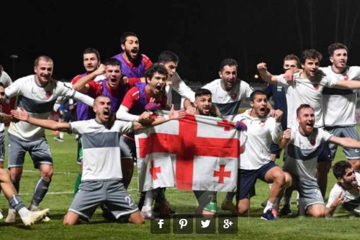 Скромний грузинський клуб вибив московське «Динамо» з Ліги Європи (відео)