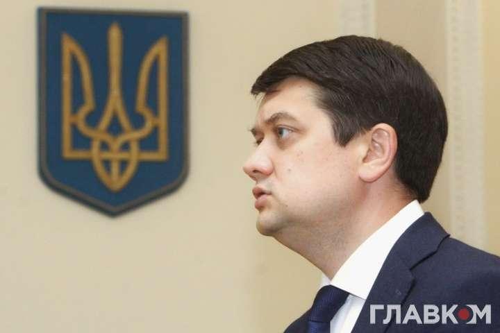 pДмитро Разумков вважає, що вибори в ОРДЛО проводити не можна/p - Разумков розкритикував ідею про місцеві вибори на окупованому Донбасі