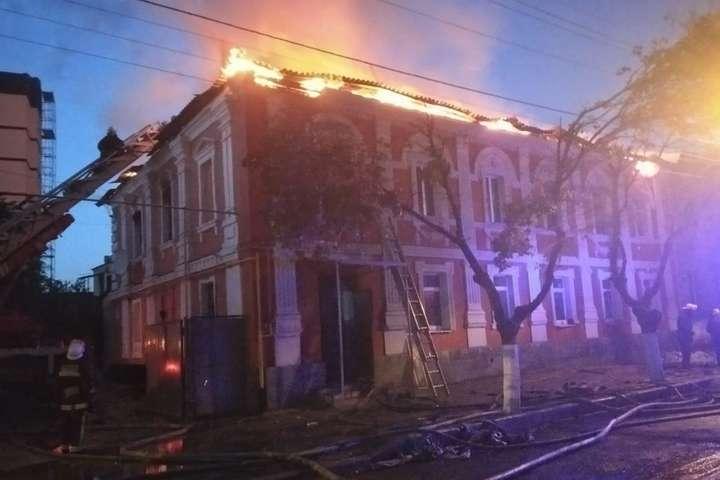 У Харкові горить багатоквартирний будинок - У Харкові горить багатоквартирний будинок: є загиблий