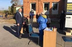 Фото: — <p>Кандидат на посаду Дергачівського міського голови Костянтин Жидков організував проведення безкоштовних ІФА-тестів на коронавірус</p>