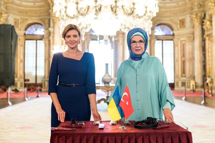 Олена Зеленська та ЕмінеЕрдоган — Дві перші леді: Олена Зеленська опублікувала фото з дружиною Ердогана