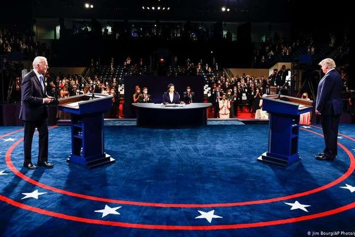 Другі дебати Байдена і Трампа: менше скандалів, більше суті