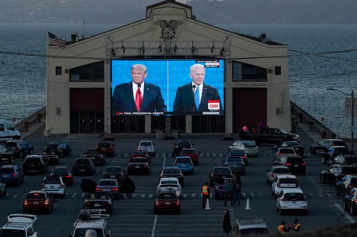 Гітлер, Кім Чен Ин та Україна. Чим завершились фінальні дебати між Трампом і Байденом