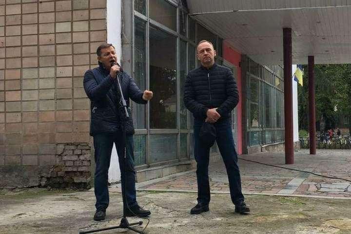 «Голосуйте за своїх». Мер Чернігова Атрошенко закликав земляків підтримати Ляшка