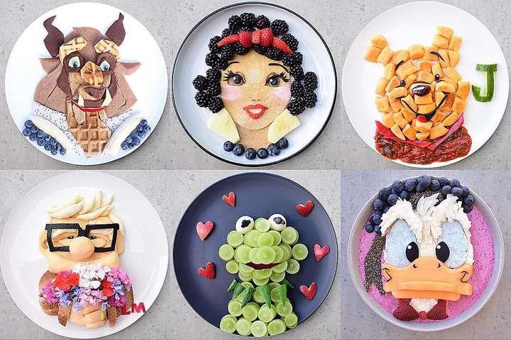 Кулинар превращает еду в мультяшных персонажей, чтобы дети ели здоровую пищу (фото)