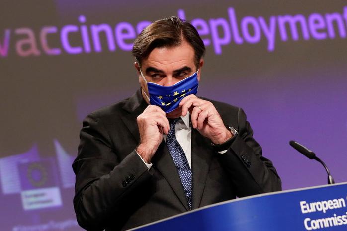 Віцепрезидент Єврокомісії заразився коронавірусом