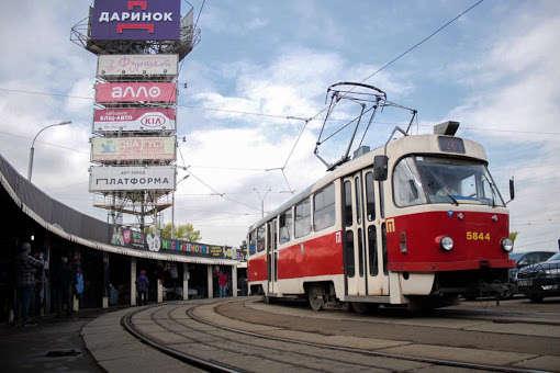 У Києві змінилися маршрути трамваїв (список)