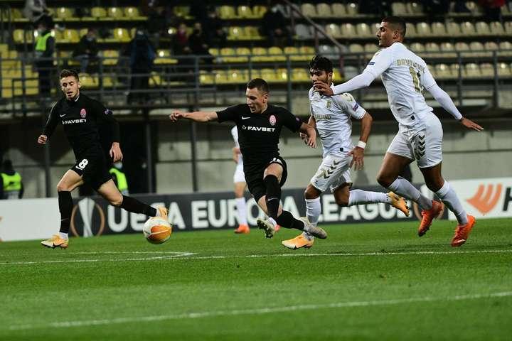«Зоря» намагалася відігратися протягом 80-ти хвилин, але забили лише на шостій компенсованій, коли часу на повноцінний порятунок не залишалося - Через голи на старті матчу луганська «Зоря» вдруге програла в Лізі Європи (відео)