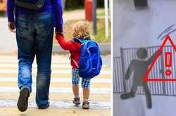 Фото: — Вистоа паркану у школі — майже два метри