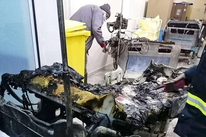 У Румунії під час пожежі в Covid-лікарні загинуло 10 осіб
