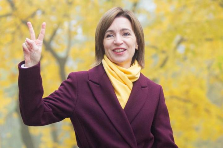 Новообрана президентка МолдовиМайя Санду