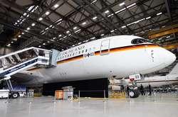 Фото: — ЛайнерGerman Air Force One для перевезення канцлера Ангели Меркель і членів її уряду