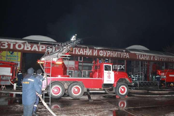 Після пожежі на «Барабашово» - В пожежі на «Барабашово» вбачають підпал