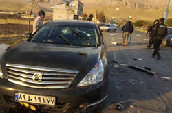 Фото: — На місці вбивства Мухсіна Фарізаде