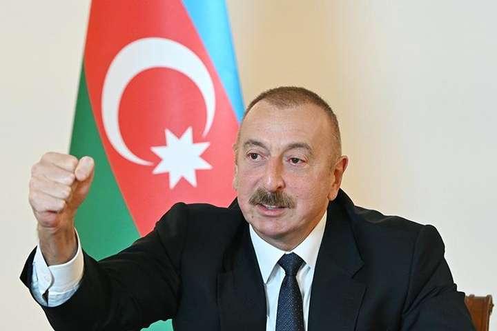 Алієв наголосив, що не розуміє, яке «відношення має парламент Франції» до ситуації в Карабаху