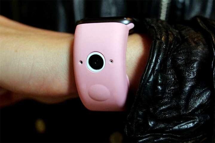 Wristcam випустила аксесуар для Apple Watch - У ремінець для Apple Watch буде вбудовано дві камери