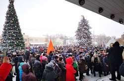 Фото: — У містах України почалася всеукраїнська акція «Стоп тарифний геноцид»