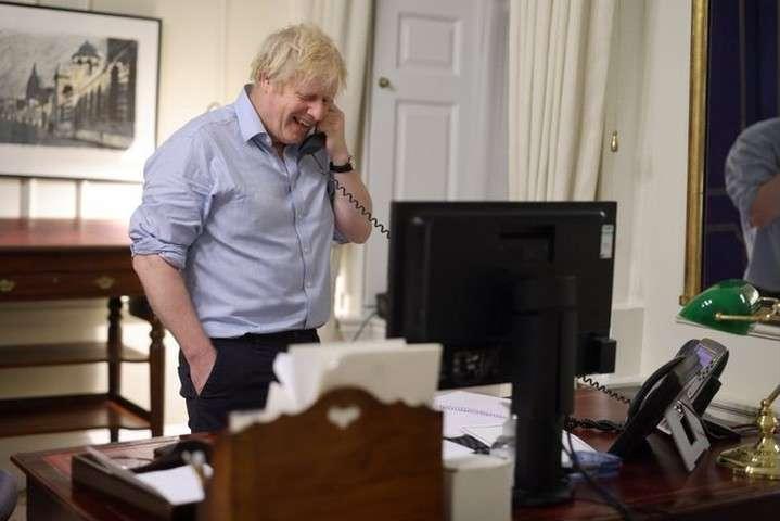 Прем'єр-міністр Великої Британії Борис Джонсон - Байден здійснив перші телефонні переговори з європейським лідером