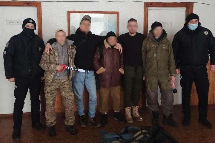 Семеро киян-порушників шукали пригод у Чорнобильській зоні (фото)