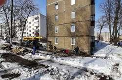 Фото: — Комунальне підприємство «Житловик» розпочало роботу із ліквідацією наслідків, які завдала стихія