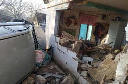 Фото: — В будівлі на момент аварії знаходилася жінка
