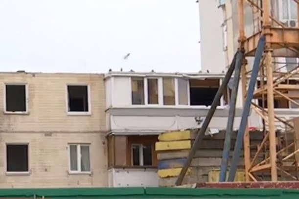Всі аварійні частини, що загрожували цілосності конструкції, зараз демонтовано