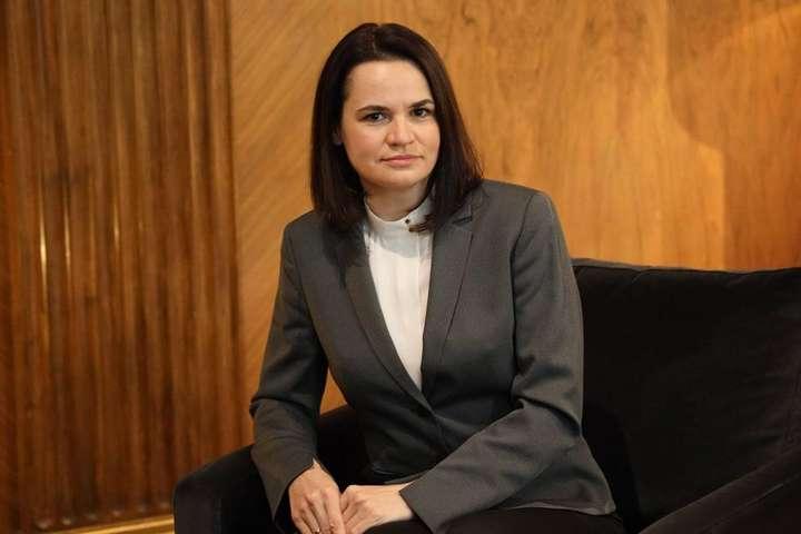 Світлана Тихановська заявила про намір зустрітися з Джо Байденом