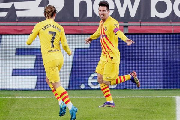 Антуан Грізманн відкрив рахунок у матчі, Ліонель Мессі закріпив успіх - Шедевр і рекорд Мессі: «Барселона» виграла перший трофей сезону