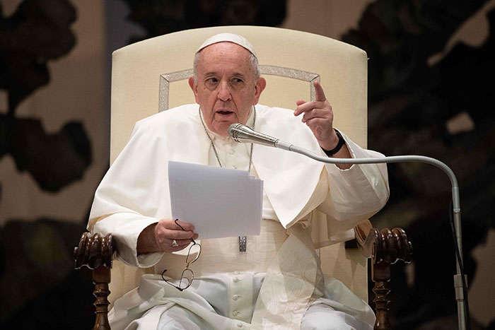 Папа Римський Франциск згадав про Донбас під час своєї проповіді - Папа Римський висловив стурбованість загостренням на Донбасі