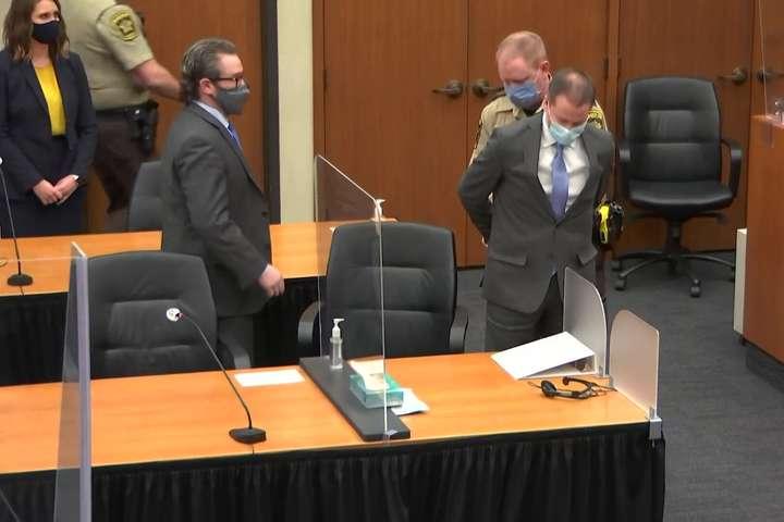 У США колишнього поліцейського визнали винним у вбивстві Джорджа Флойда - У США колишнього поліцейського визнали винним у вбивстві Джорджа Флойда