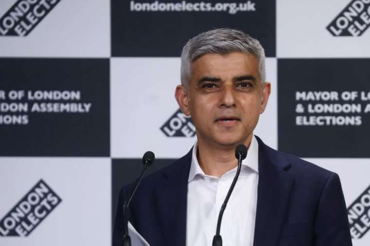 Мер Лондона Садік Хан переобраний на другий термін - Садік Хан переобраний на пост мера Лондона