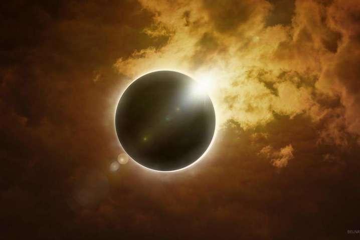 Увидеть солнечное затмение можно будет не на всей территории Украины- Огненное кольцо где