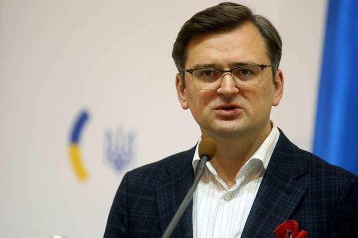 Дмитро Кулеба розкритикував рішення Німеччини не поставляти озброєння в Україну - Кулеба розкритикував рішення Німеччини не поставляти озброєння в Україну