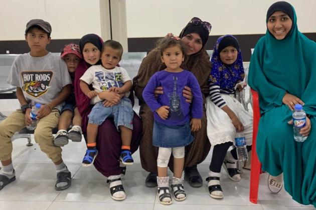 В Україну з сирійського табору повертаються вісім українців