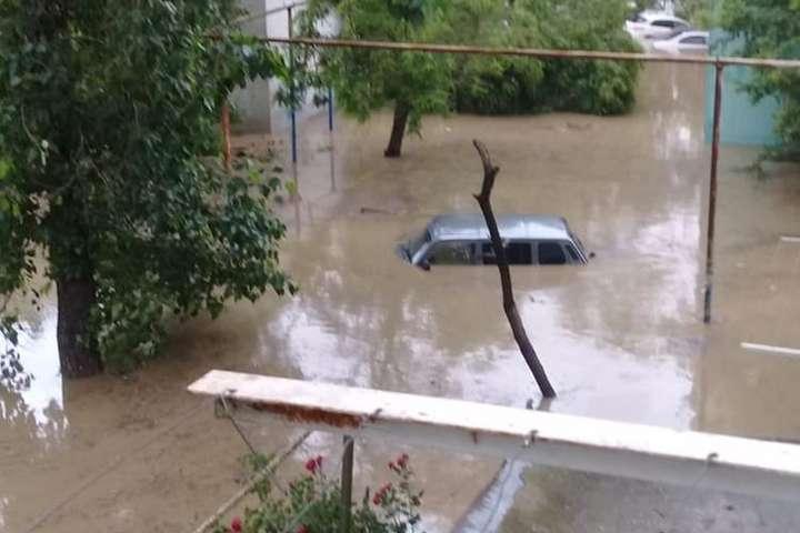 Потоп у Криму набув катастрофічних масштабів (фото, відео) - Главком