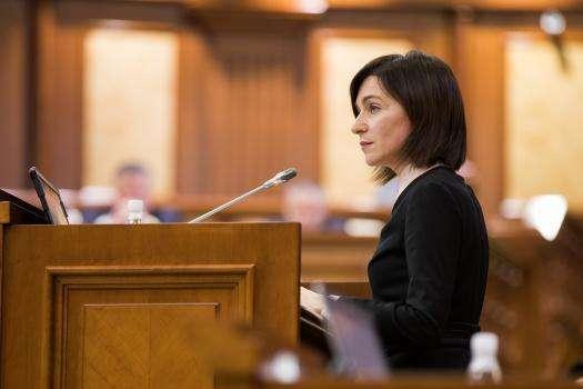 Санду скликала перше засідання нового парламенту Молдови
