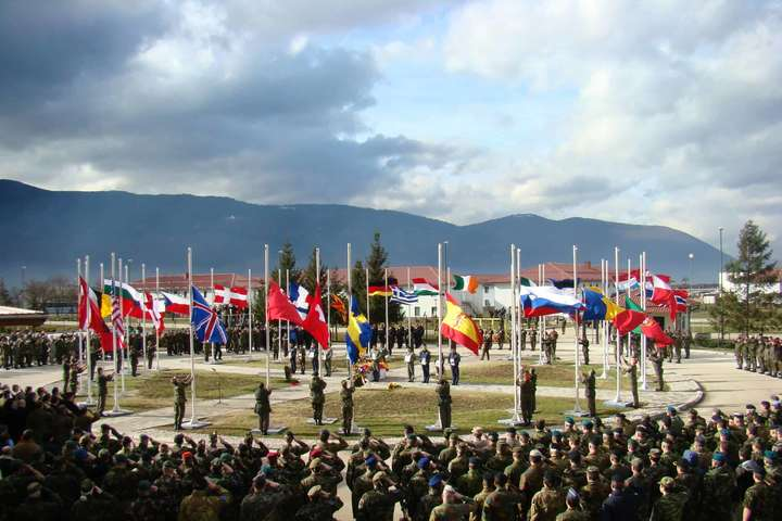 25 Вересня, 2020.Операція Althea сил Європейського Союзу EUFOR у Боснії та Герцеговині - Україна відправить миротворців до Боснії та Герцеговини