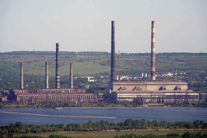 Славянская ТЭС прекратила работу из-за аварийного отключения блока №7