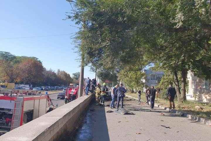 Внаслідок вибуху в Дніпрі загинули чоловік та жінка - Поліція кваліфікувала вибух авто у Дніпрі як теракт