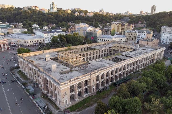 Зараз Гостиний двір охороняє Нацполіція - Ткаченко розповів, що буде у Гостиному дворі після реставрації