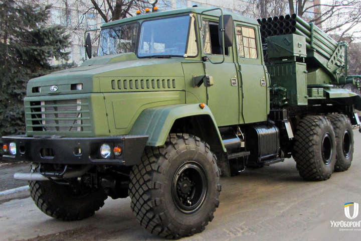 РСЗВ «Верба» на шасі КрАЗ - Українська армія прийняла на озброєння нову техніку (відео)