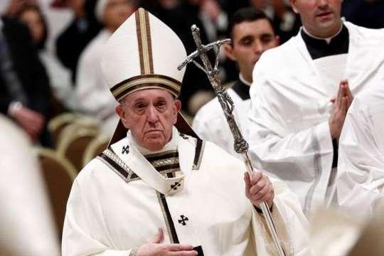 Папа Франциск розповів, якою вакциною скористалися у Ватикані - Папа Римський виступив за вакцинацію