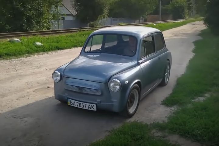 Старий «Запорожець» з динамікою Porsche - Український Porsche: старий «Запорожець» перетворили на спорткар (відео)