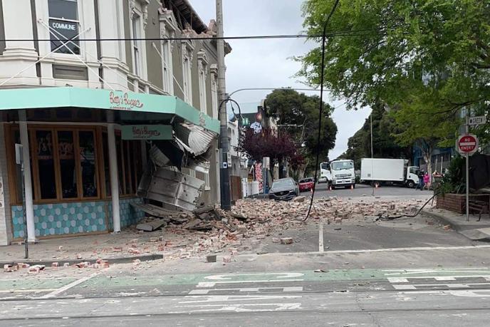 Австралію струсонули підземні поштовхи - На узбережжі Австралії стався сильний землетрус