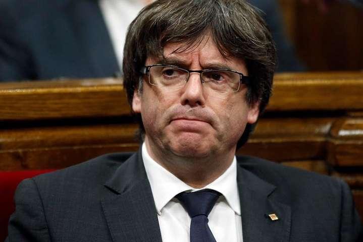 Експрезидент Женералітету Каталолії Карлес Пучдемон - В Італії затримали колишнього главу Каталонії Пучдемона
