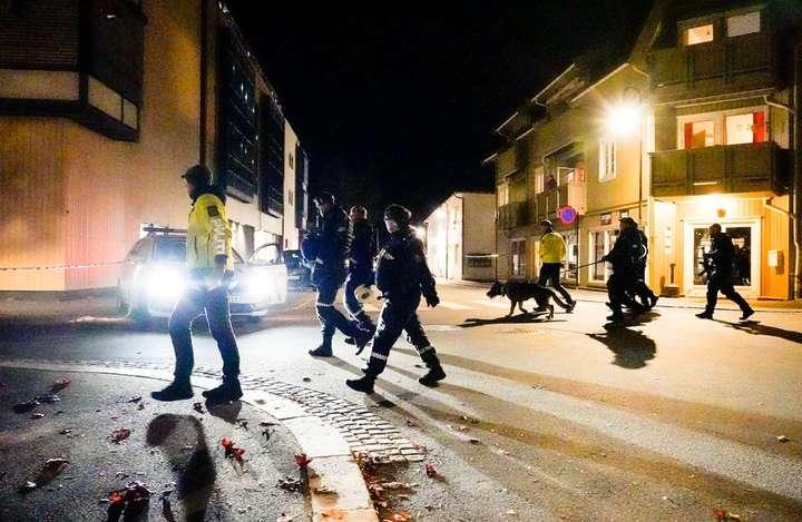 У Норвегії чоловік з луком напав на перехожих і вбив п'ятьох людей - Стрілянина з лука у Норвегії: поліція вважає це терактом