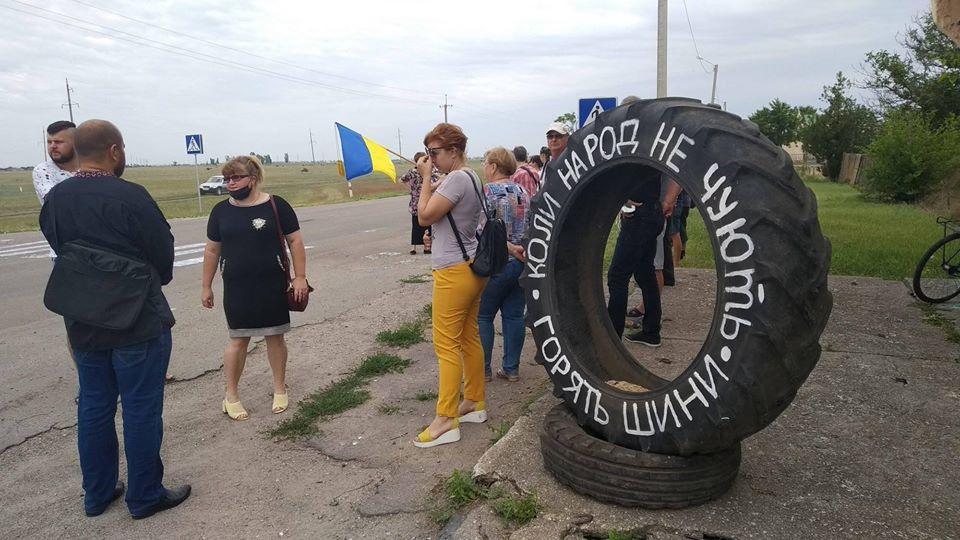 Примусове об'єднання територіальних громад супроводжувалось протестами (Фото: medianova.com.ua)