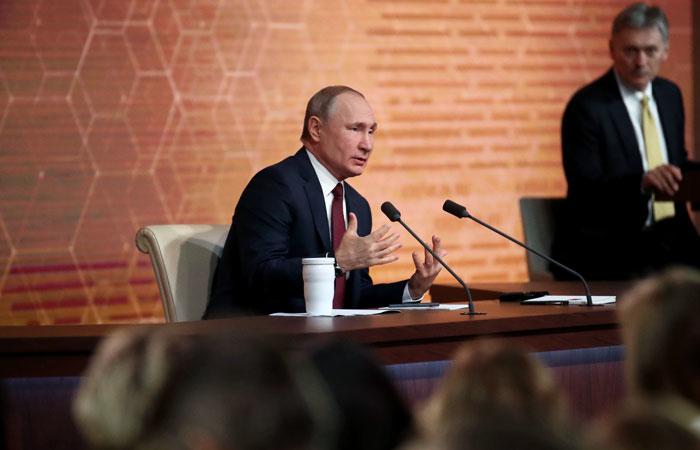 Прессконференции президента РФ.  19 декабря 2019
